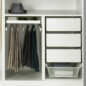 New, Unused KOMPLEMENT Organizers for PAX Wardrobe - Ikea