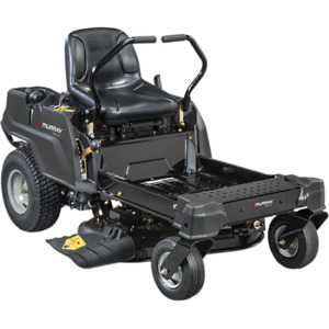 "new 34"" zero turn lawn mower ride on 25hrs only"