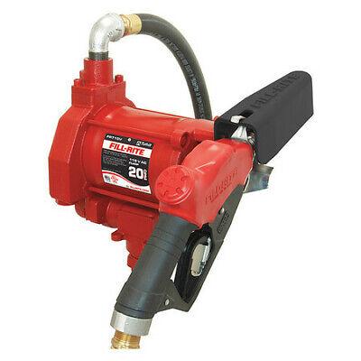 Fill-rite Fr710vb Fuel Transfer Pump 115vac 19 Gpm 13 Hp Cast Iron 1-14