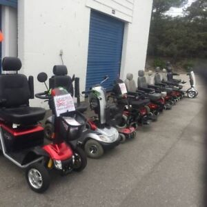 USED Power Electric WHEELCHAIRS and SCOOTERS Very LOW Priced