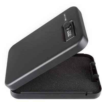 Stalwart Compact Portable Gun Safe Combination Lock Box (Stalwart Compact Portable Gun Safe Combination Lock Box)