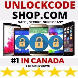 ****** ONLINE PHONE UNLOCK SERVICE WITH OVER 30,000 PHONES UNLOCKED CANADA WIDE*******