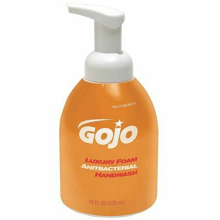 Gojo 5762-04 535 Ml Foam Hand Soap Pump Bottle, Pk 4