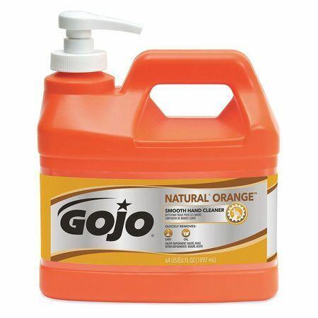 Gojo 0948-04 1/2 Gal. Liquid Hand Cleaner Pump Bottle, Pk 1