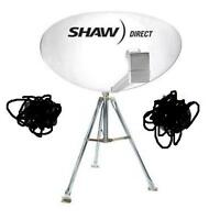 """Shaw Direct (Star Choice) 84cm / 33"""" Satellite Dish Camping Comb"""