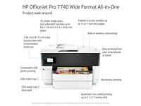 HP OfficeJet Pro 7740 Wide Format All-in-One A3/A4 Colour Inkjet Printer