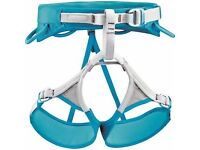 Women's climbing harness L-XL as-new condition