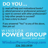 Join a Windsor Power Group Master Mind Team!