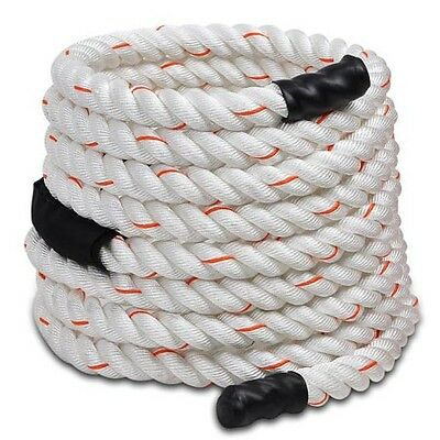 "1.5"" 30Ft Poly Dacron Strength Training Undulation Rope Battle Fitness Exercise on Rummage"