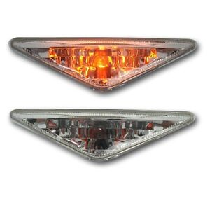 Ford Focus Mk1 98-05 Crystal Clear Side Marker Indicator Light Repeaters & Bulbs