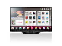 lg42la641v led 3d smart with wifi build in . mint condition. free sat build in