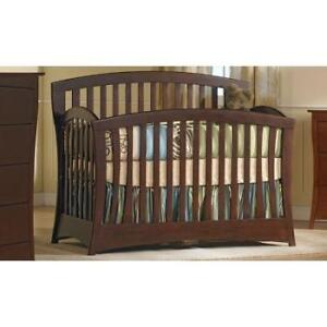 """Pali""Wood Crib and  Changing table made in Italy."