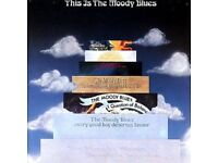 """""""This is the Moody Blues"""". Double Vinyl Album in Gatefold Sleeve"""