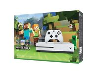 XBOX ONE S with Minecraft favourites BUNDLE - NEW SEALED