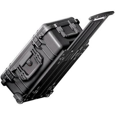 Pelican 1510 Watertight Carry On Hard Case with Foam Insert  Wheels - Black