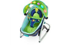 Baby rocker seat/bed