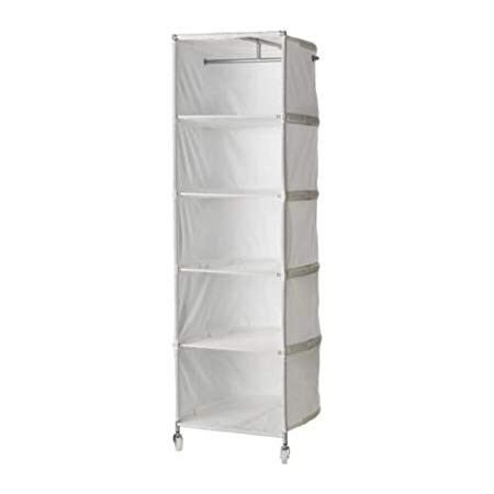Ikea Fabric Clothes Organizer With Wheels