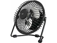 Small Black FAN for the home mains electric. NEW