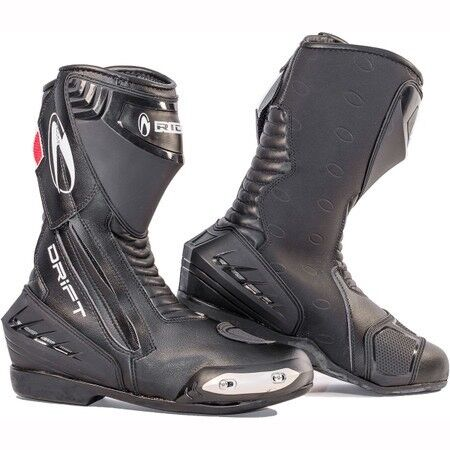 Richa drift waterproof motorcycle boots size 10