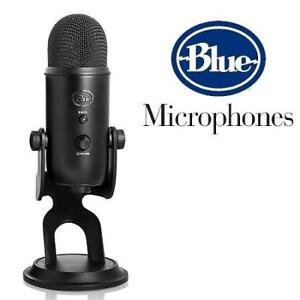 NEW* BLUE YETI USB MICROPHONE BLACKOUT YETI 188266612 BLACKOUT