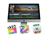 Final Cut Pro X 10.3.4 or Logic Pro X 10.3.2 Macbook / Imac