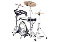 musical instrument DISC Arbiter Flats Lite Drum Kit in excellent condition