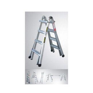 Gorilla Multi Purpose Ladder 120Kg 1.2-4.5m