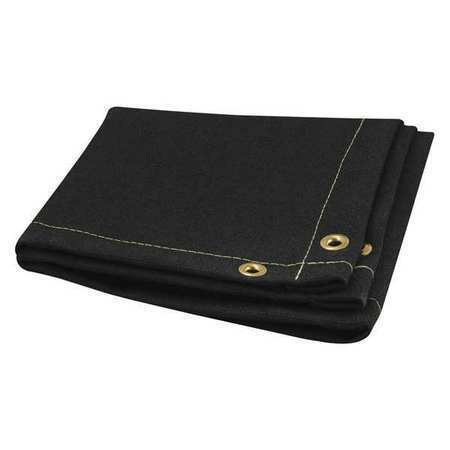 Steiner 376-8X8 Welding Blanket,8 Ft. W,8 Ft.,Black