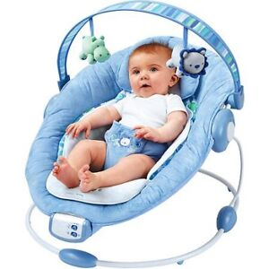 Comfort & Harmony Blue Baby Bouncer