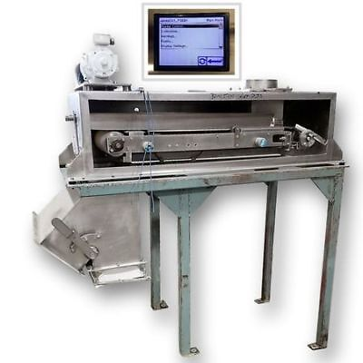Used Stainless Steel Merrick Weigh Belt Feeder - Belt Scale Model 950