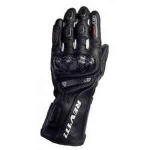 Brand new Rev'it race leather gloves - Black Size M