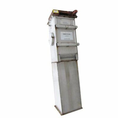 Used 600 Cfm Mikro-pulsaire Stainless Steel Bin Vent Fabric Filter