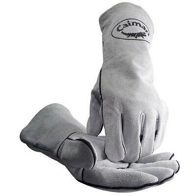 Caiman 1405 Welding Gloveslgrayfleecepr