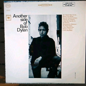 Bob Dylan vinyl record lp