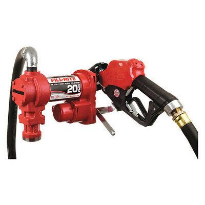 Fill-rite Fr4210hb Fuel Transfer Pump 12vdc 20 Gpm 14 Hp Cast Iron 1 Npt