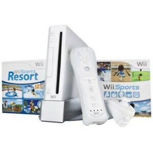 Nintendo Wii - complete system with games and accessories.
