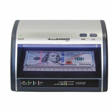 Accubanker Led420 Counterfeit Detector,110Vac Input Power