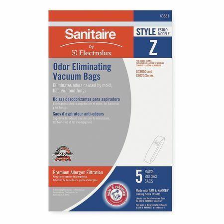 Sanitaire 63881 Bag,Z,Paper,Non-Reusable,Pk5
