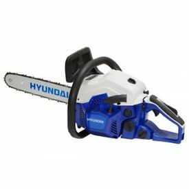 Hyundai HYC3816 16 inch 37cc petrol Chainsaw,brand new,boxed and with warrenty,cheapest in the uk