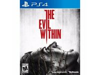 The Evil Within PS4 (like new)