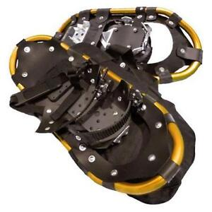 Backwoods snowshoes size 20 holds up to 125lbs instock in gold