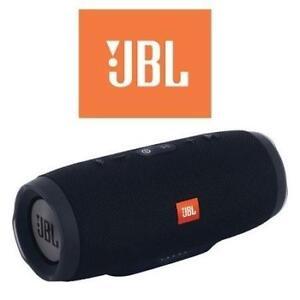 RFB JBL CHARGE 3 BLUETOOTH SPEAKER JBLCHARGE3BLKAM 213188612 WATERPROOF WIRELESS BLACK REFURBISHED