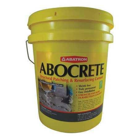 Abocrete Ackr Light Gray Epoxy Adhesive, Pail, 5 Gal, Gray, 4:1 Mix Ratio, 5 Hr