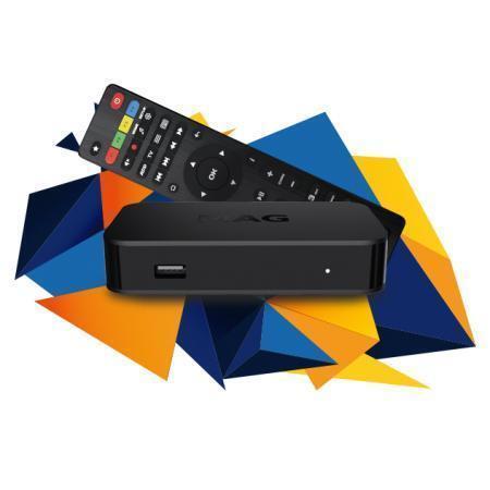 MAG 322 IPTV SET TOP BOX De voordeligste MAG TV Box! Full HD