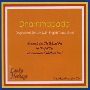 NEW Dhammapada: Original Pali Stanzas (Audio CD)