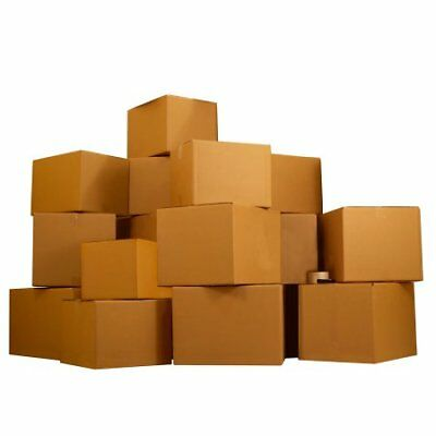 Moving Boxes 3 Room Economy Kit 40 Boxes Packing Supplies. W
