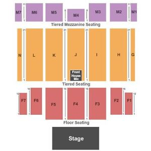 2 Tickets for Jethro Tull at The Colosseum Caesars Windsor
