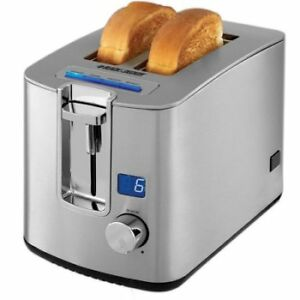 RFB Black + Decker 2-Slice Toaster With LED Display
