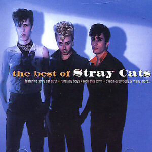 Stray Cats – The Best Of- CD 1996 BMG  Australian issue – 74321 446822