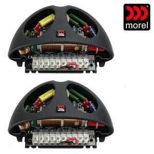 NEW MOREL 3-WAY CROSSOVER 2PK MXT 380 241040105 MXT 380 ELATE TI COMPONENT SPEAKER SYSTEM